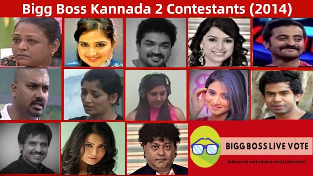 bigg boss kannada 2 contestants