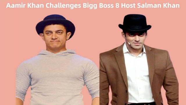 Aamir Khan Challenges Bigg Boss 8 Host Salman Khan