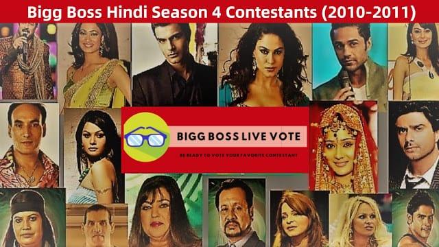Bigg Boss Season 4 Hindi Contestants