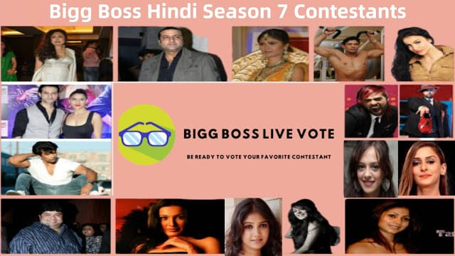 Bigg Boss Hindi Season 7 Contestants