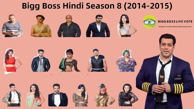 Bigg Boss Hindi Season 8