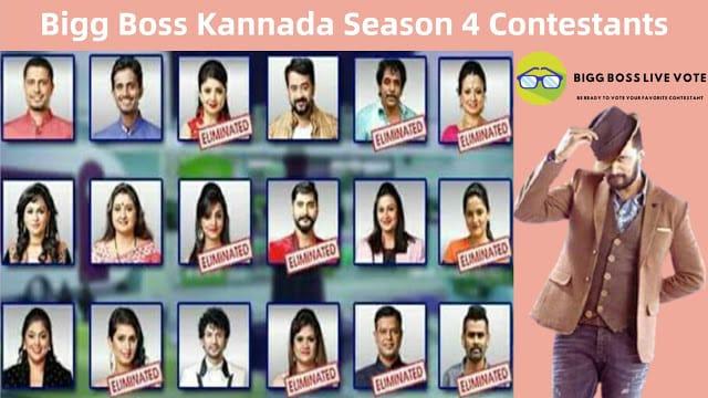Bigg Boss Kannada Season 4 Contestants