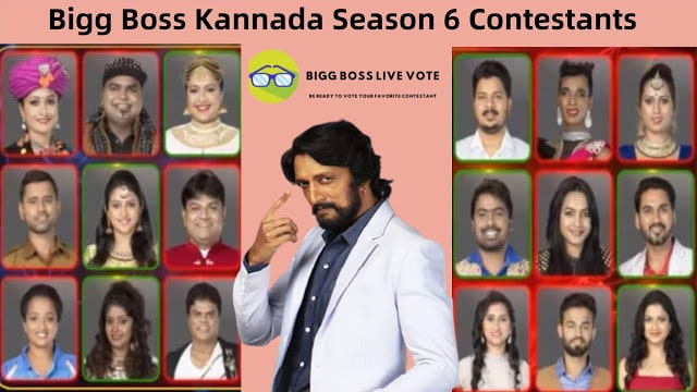 Bigg Boss Kannada Season 6 Contestants