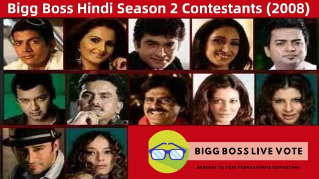 Bigg Boss Season 2 Hindi Contestants