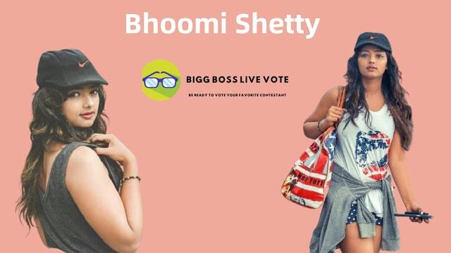 Actress Bhoomi Shetty