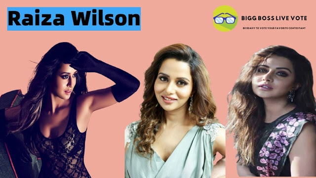 Actress Raiza Wilson