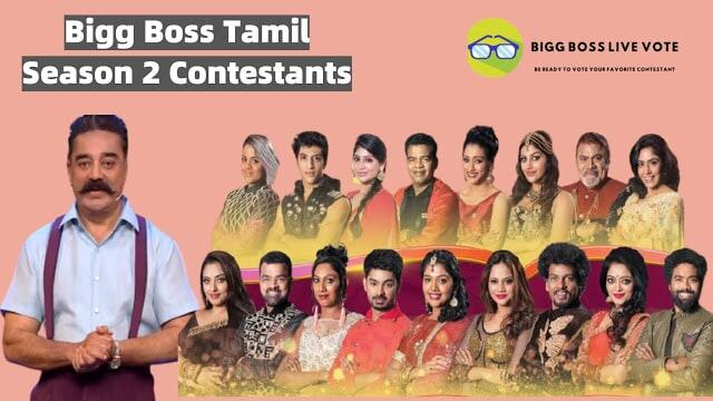 Bigg Boss Tamil Season 2 Contestants