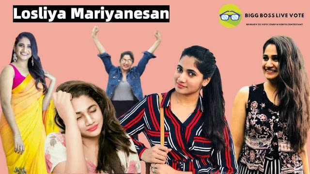Celebrity Losliya Mariyanesan