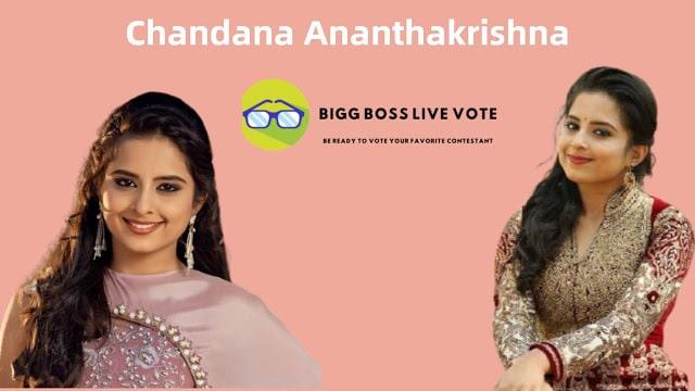 Kannada Actress Chandana Ananthakrishna