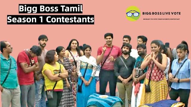 Bigg Boss 1 Contestants Tamil