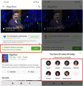 bigg boss 3 tamil online vote