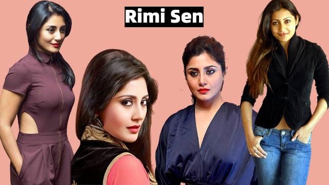 Hot Actress Rimi Sen