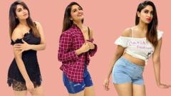 Actress Shivani Narayanan Hot Photos