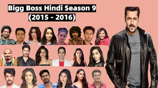 Bigg Boss Hindi Season 9