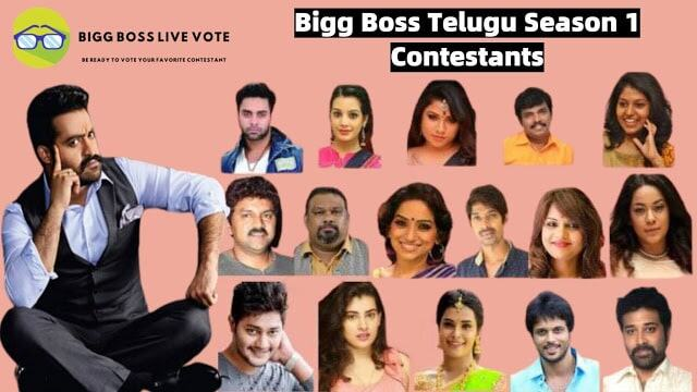 Bigg Boss 1 Telugu Contestants