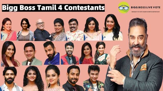 Bigg Boss Season 4 Tamil Contestants List