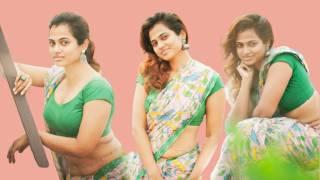 Ramya Pandian Hot viral saree Photoshoot