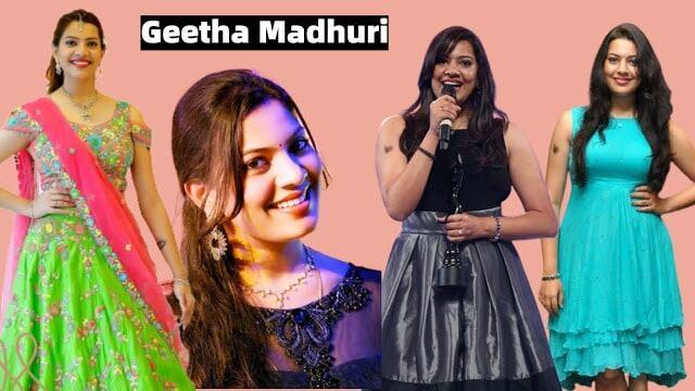 Singer Geetha Madhuri